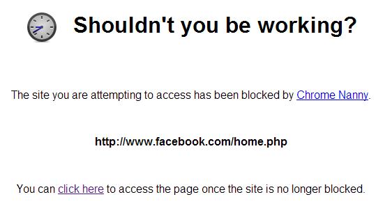 Facebook blokkolása