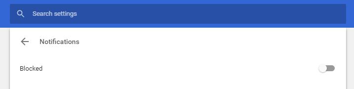 Chrome értesítések letiltása